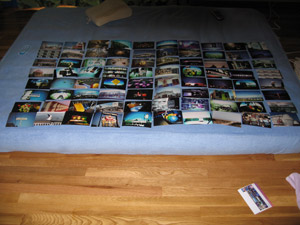 80 photographs in an 8 x 10 grid